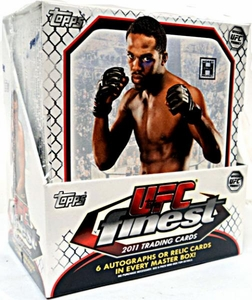Topps FINEST UFC Ultimate Fighting Championship 2011 Finest Trading Card Box [12 Packs]