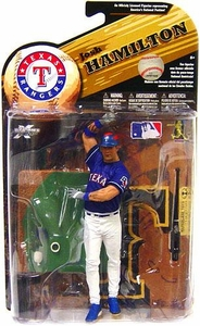 McFarlane Toys MLB Sports Picks Series 25 [2009 Wave 2] Action Figure Josh Hamilton (Texas Rangers) Blue Jersey