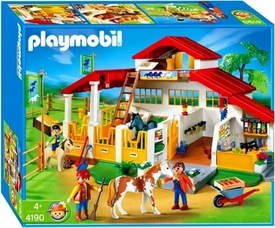 Playmobil Farm Set #4190 Pony Ranch Horse Farm