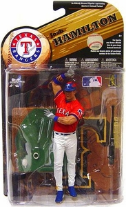 McFarlane Toys MLB Sports Picks Series 25 [2009 Wave 2] Action Figure Josh Hamilton (Texas Rangers) Red Jersey Variant