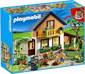 Playmobil Farm Set #5120 Farm House with Market