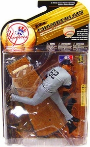 McFarlane Toys MLB Sports Picks Series 25 [2009 Wave 2] Action Figure Joba Chamberlain (New York Yankees) Gray Uniform Variant