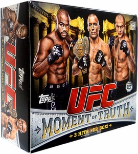 Topps UFC Ultimate Fighting Championship 2011 Moment of Truth Hobby Box [16 Packs]