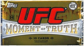 Topps UFC Ultimate Fighting Championship 2011 Moment of Truth Trading Card Pack