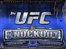 Topps UFC Ultimate Fighting Championship 2013 Knockout Trading Card Box [8 Packs]