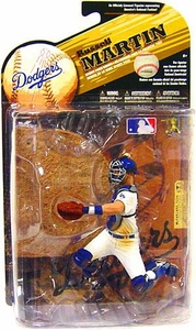 McFarlane Toys MLB Sports Picks Series 25 [2009 Wave 2] Action Figure Russell Martin (Los Angeles Dodgers) White Uniform