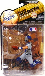 McFarlane Toys MLB Sports Picks Series 25 [2009 Wave 2] Action Figure Russell Martin (Los Angeles Dodgers) Grey Uniform Variant