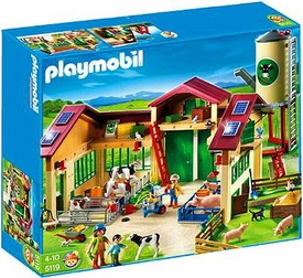 Playmobil Farm Set #5119 Barn with Silo