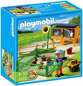 Playmobil Farm Set #5123 Bunny Hutch
