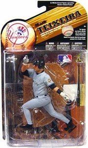 McFarlane Toys MLB Sports Picks Series 25 [2009 Wave 2] Action Figure Mark Teixeira (New York Yankees) Gray Uniform Variant