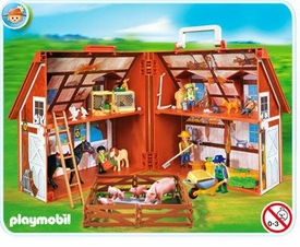 Playmobil Farm Set #4142 Take Along Farm