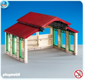 Playmobil Farm Set #6213 Vehicle Shed