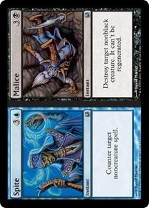 Magic the Gathering Duel Decks: Ajani vs. Nicol Bolas Single Card Blue Uncommon #71 Spite