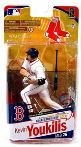 McFarlane Toys MLB Sports Picks Series 26 Action Figure Kevin Youkilis (Boston Red Sox) White Jersey