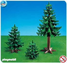 Playmobil Farm Set #7756 3 Pine Trees