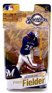 McFarlane Toys MLB Sports Picks Series 26 Action Figure Prince Fielder (Milwaukee Brewers)Blue Jersey