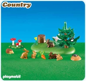 Playmobil Farm Set #6264 Small Woodland Animals