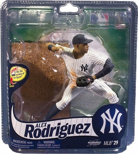 McFarlane Toys MLB Sports Picks Series 29 Action Figure Alex Rodriguez (New York Yankees) Blue Hat