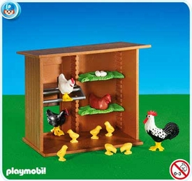 Playmobil Farm Set #6207 Hen House