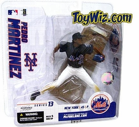 McFarlane Toys MLB  Sports Picks Series 13 Extended Action Figure Pedro Martinez (New York Mets) Blue Jersey