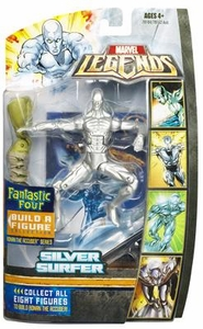Marvel Legends Fantastic Four Action Figure Silver Surfer