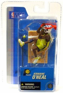 McFarlane Toys NBA 3 Inch Sports Picks Series 3 Mini Figure Jermaine O' Neal (Indiana Pacers)