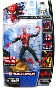Marvel Legends Spider-ManMovie Action Figure Classic-Suit Spider-Man [Sandman Build A Figure Piece!]