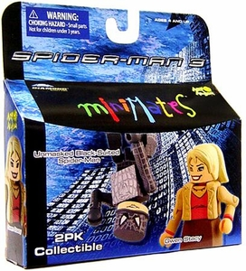 Marvel MiniMates Series 18 Spider-Man 3 Mini Figure 2-Pack Unmasked Black-Suited Spider-Man & Gwen Stacy BLOWOUT SALE!