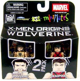 Marvel MiniMates Series 26 Mini Figure 2-Pack Deadpool & Special Ops Wolverine