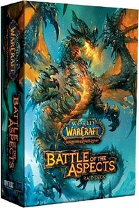 World of Warcraft Trading Card Game Battle of the Aspects Raid Deck