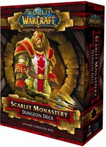 World of Warcraft Trading Card Game Dungeon Deck Scarlet Monastery