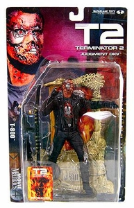 McFarlane Toys Movie Maniacs Series 4 Action Figure T2 Terminator 2 Judgement Day: T-800