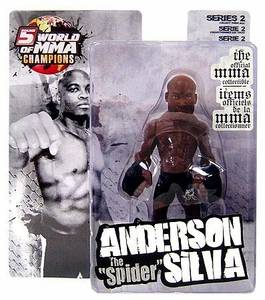 Round 5 World of MMA Champions UFC Series 2 Action Figure Anderson