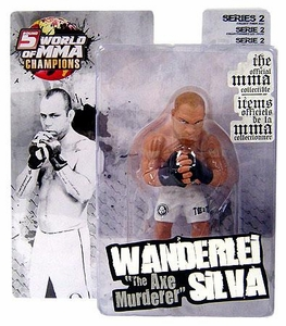 Round 5 World of MMA Champions UFC Series 2 Action Figure Wanderlei