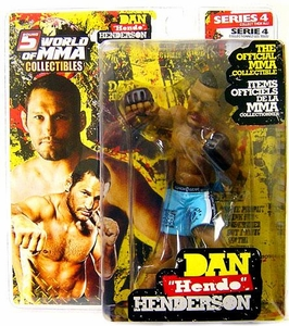 Round 5 World of MMA Champions UFC Series 4 Action Figure Dan