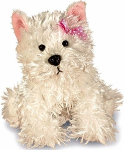 Webkinz Plush White Terrier