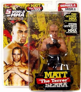 Round 5 World of MMA Champions UFC Series 4 Action Figure Matt