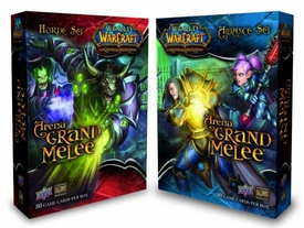 World of Warcraft Trading Card Game Set of Both Arena Grand Melee Sets [Alliance & Horde]