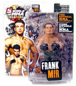 Round 5 World of MMA Champions UFC Series 3 Action Figure Frank Mir