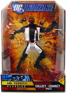 DC Universe Classics Series 8 Action Figure Mr. Terrific [Build Giganta Piece!]