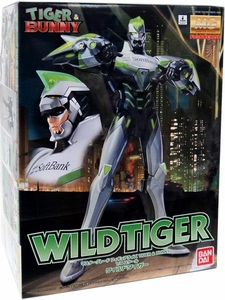 Tiger & Bunny Master Grade Figurerise 1/8 Scale Figure Model Kit Wild Tiger