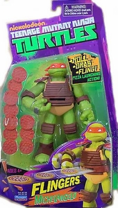Nickelodeon Teenage Mutant Ninja Turtles Flingers Action Figure Michelangelo