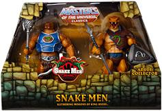 He-Man Masters of the Universe Classics Exclusive Action Figure 2-Pack Snake Men