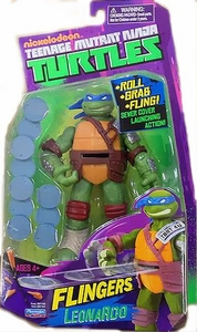 Nickelodeon Teenage Mutant Ninja Turtles Flingers Action Figure Leonardo