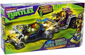Nickelodeon Teenage Mutant Ninja Turtles Vehicle Leo & Donnie's Patrol Buggies