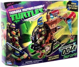 Nickelodeon Teenage Mutant Ninja Turtles Vehicle Mutagen Ooze Drop Copter