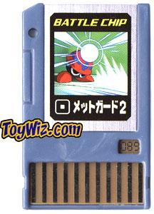 Mega Man Japanese Battle Chip #089 Met Guard Works with American PET!