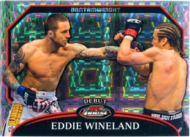 UFC Topps 2011 FINEST Debut Eddie Wineland