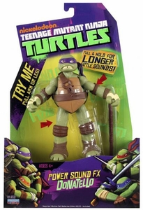 Nickelodeon Teenage Mutant Ninja Turtles Action Figure Power Sound FX Donatello