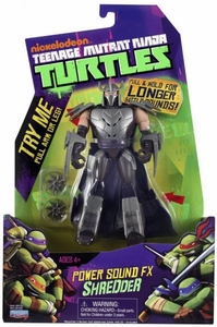 Nickelodeon Teenage Mutant Ninja Turtles Action Figure Power Sound FX Shredder